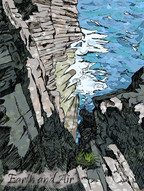 Orkney Cliff