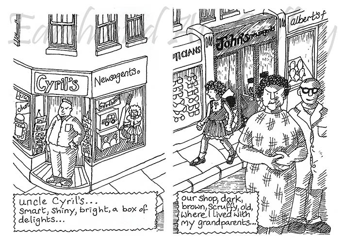 Life in a Sweet Shop - Pages 1 and 2