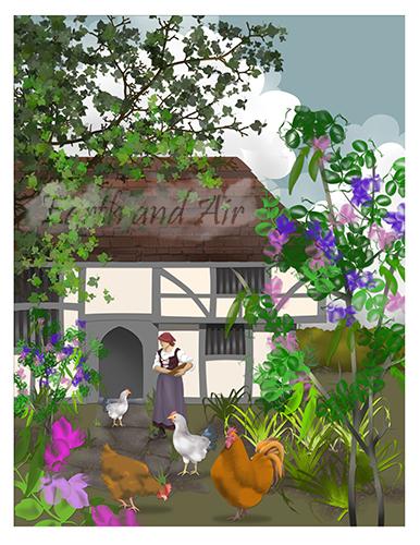 Bayleaf House - Princess and the Pea