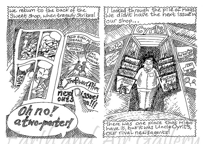 Life in a Sweet Shop Pages 7 and 8