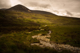 Ascent to Coire an Lochain