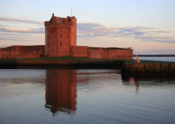 Sunset at Broughty Castle