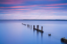 Groyne with Mackerel Sky