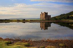 Reflection, Lochranza Castle