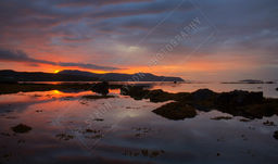 SUNSET OVER RAASAY