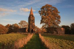 Sunset, Restenneth Priory