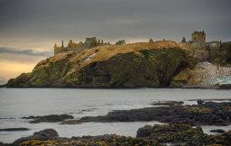 Winter, Dunnottar Castle