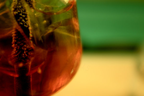 aperol spritz close-up