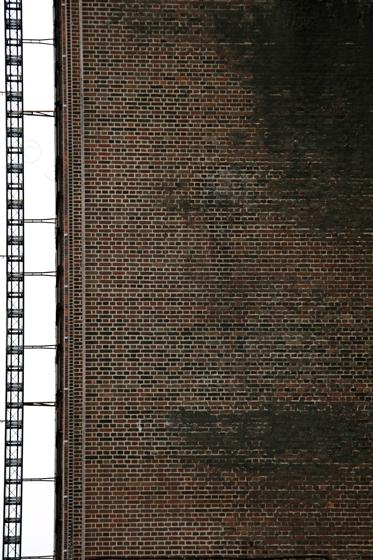 ladder against bricks