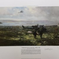 Falklands Casevac, Ajax Bay 28 May