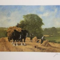 Harvest Time by John Trickett