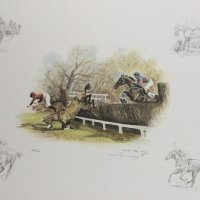 Horse Racing by C Roche