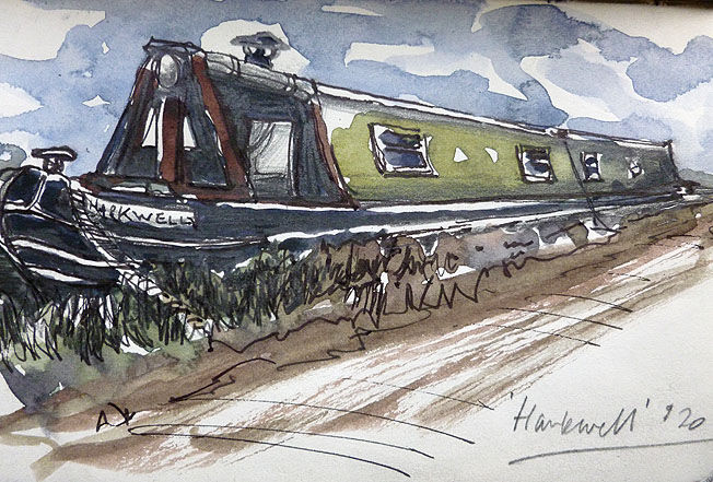 Harkwell; watercolour