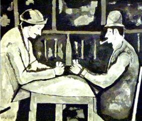 Harold's Cezanne Card Playersb