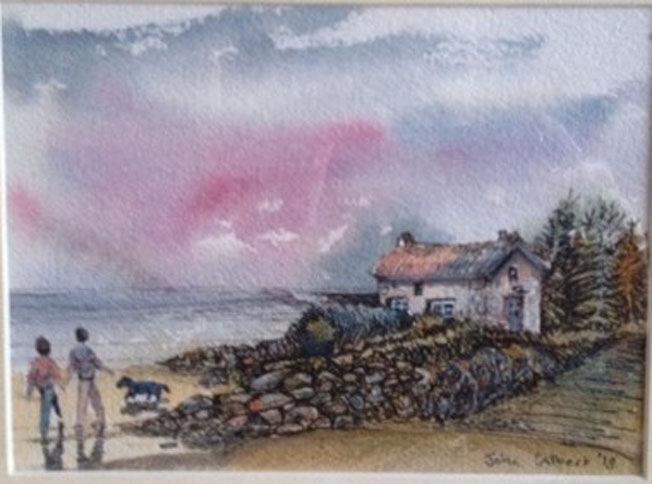 Jenny Brown, watercolour