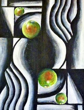 Lin's Cezanne Still Lifeb