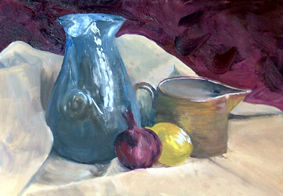 Norman Long Painting in Oils Workshop 4b