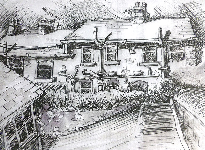 Outback; pencil