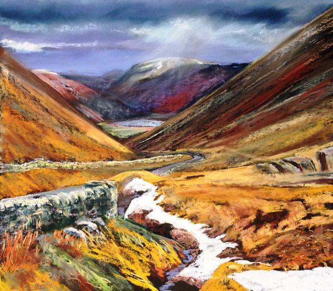 Whinlatter Pass; pastel S