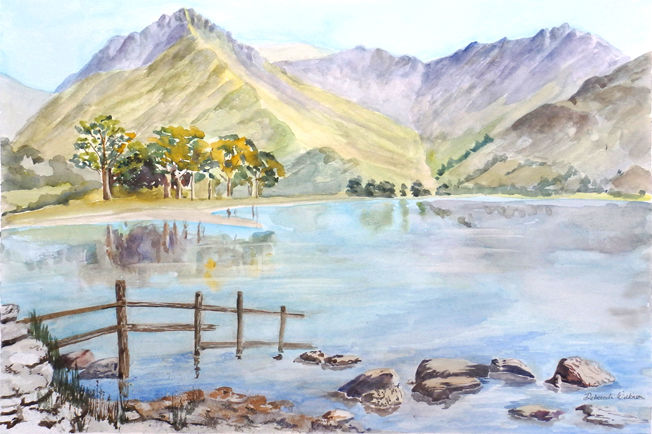 Buttermere 1; acrylic