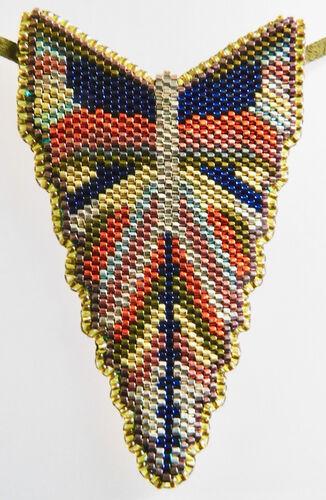 Deco Butterfly Pendant