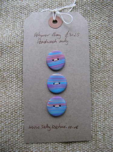 Jupiter Buttons - Turquoise