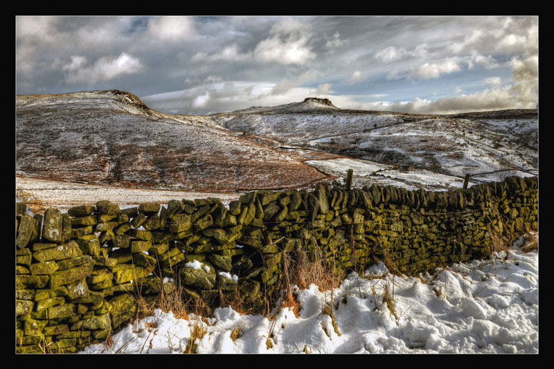 Higger Tor in the Snow