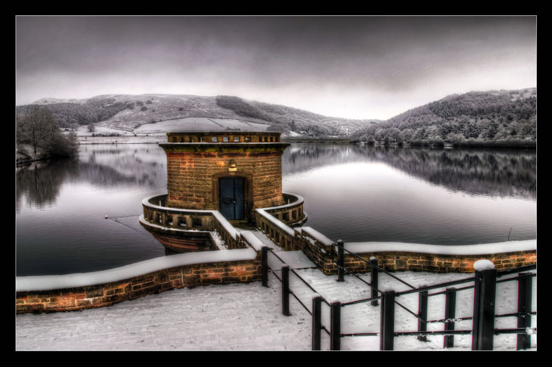 Reservoir in Winter