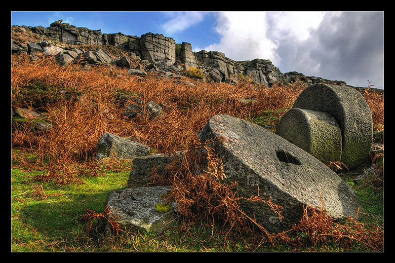 Stanage Edge Millstones