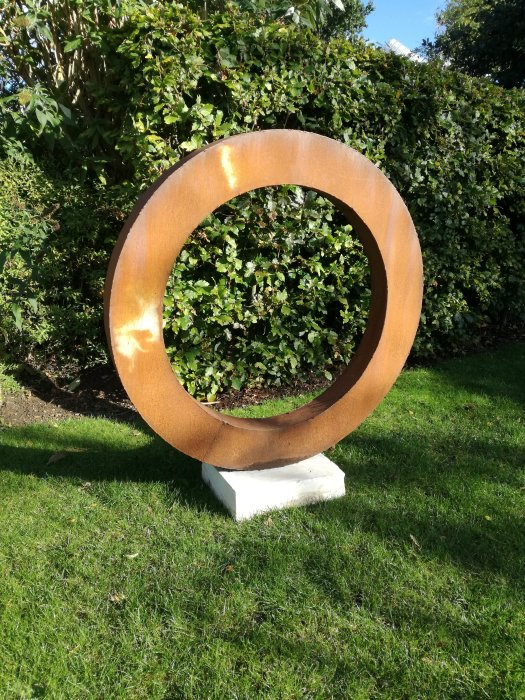 Thick steel ring large