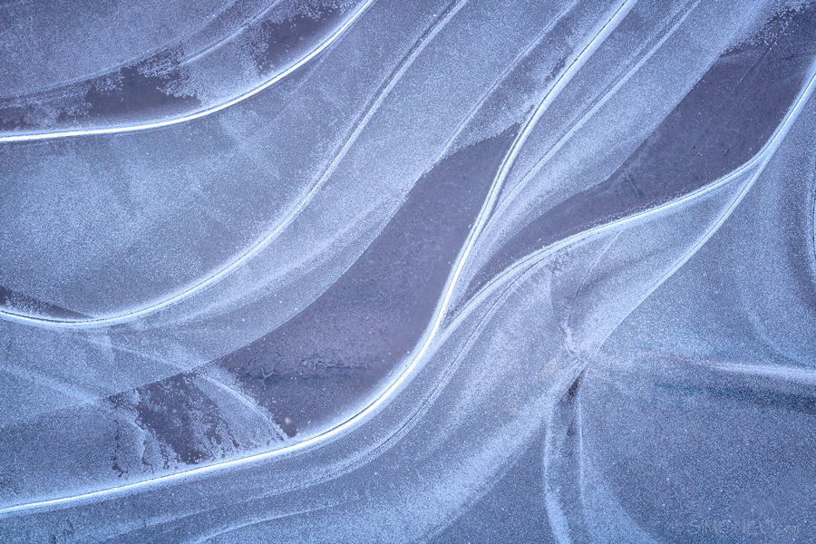 Icy waves