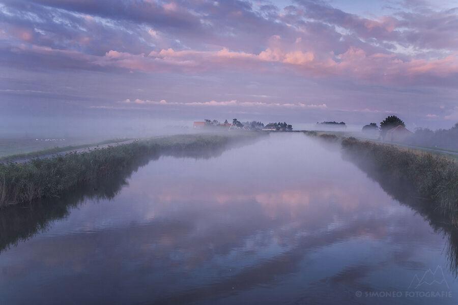 Magische morgen in Waterland