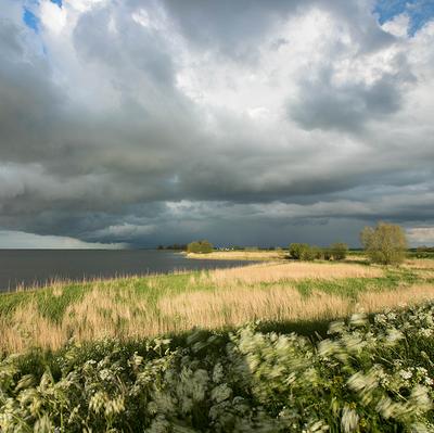 Wolken wind is Waterland