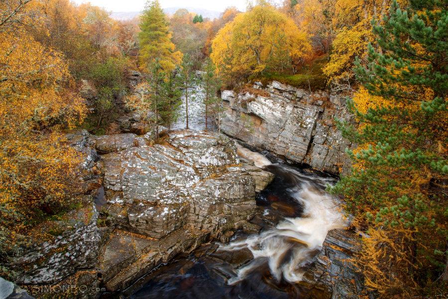 Tromie falls