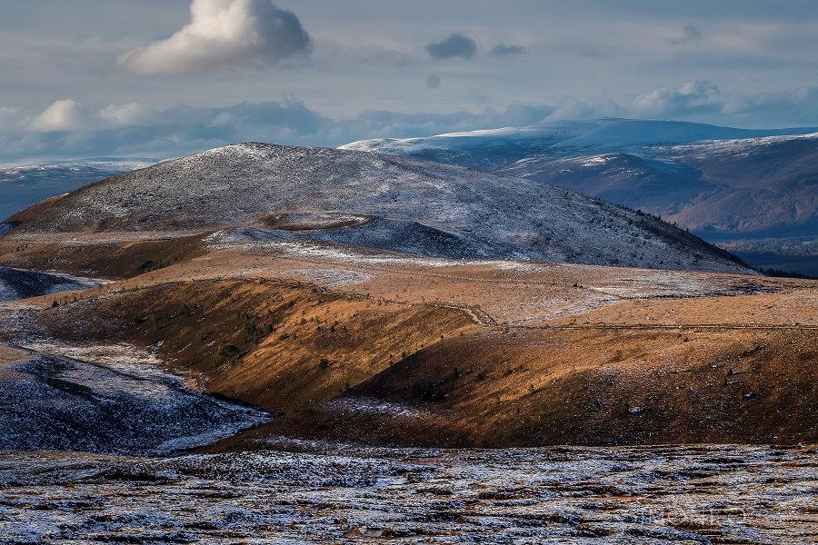 Schotland: Cairngorm, een verlaten plaats