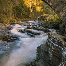 Feshiebridge met de River Feshie