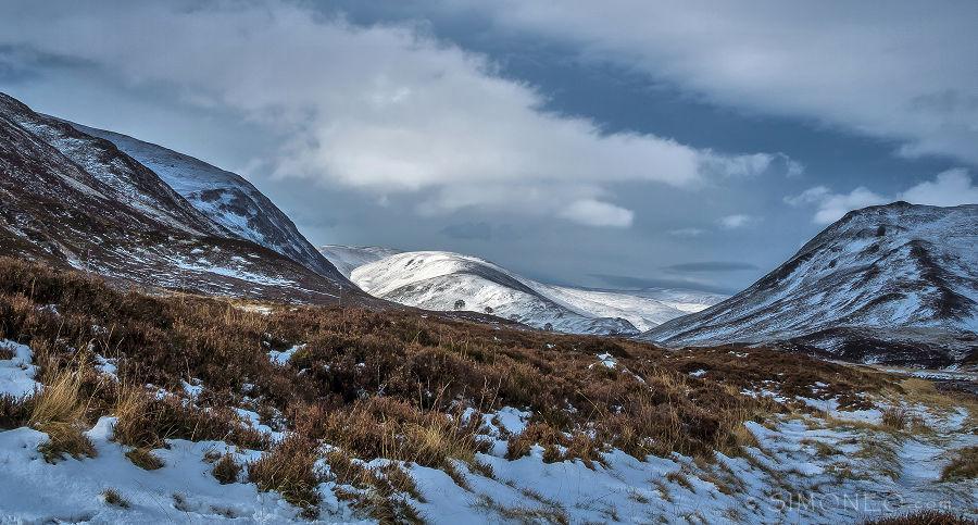 Glen Clunie, Cairngorms, Schotland