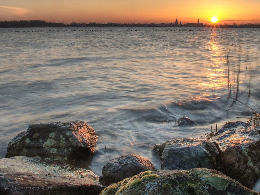 Gouden zon @Gouwzee