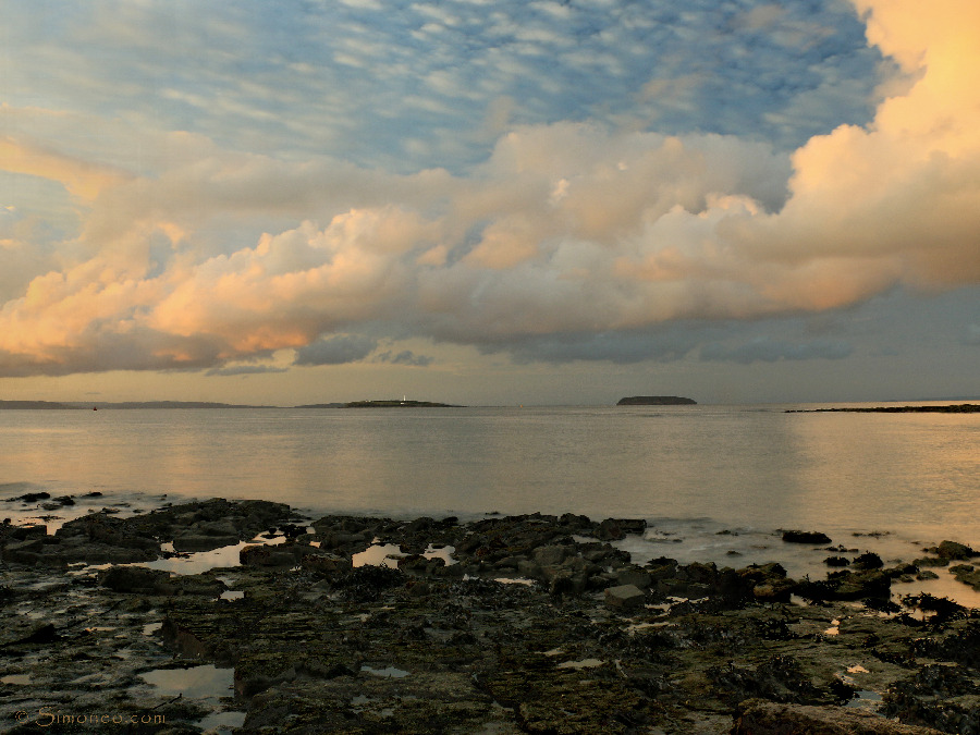 Lavernock Point at sunrise