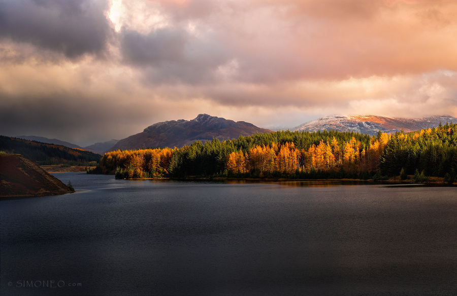 Light, love, Loch Laggan