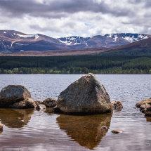 Loch Morlich reflectie