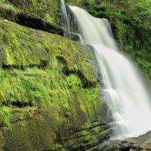 Sgwd Uchaf Clun Gwyn waterfall, Wales