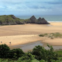Three Cliffs Bay, Gower, Wales
