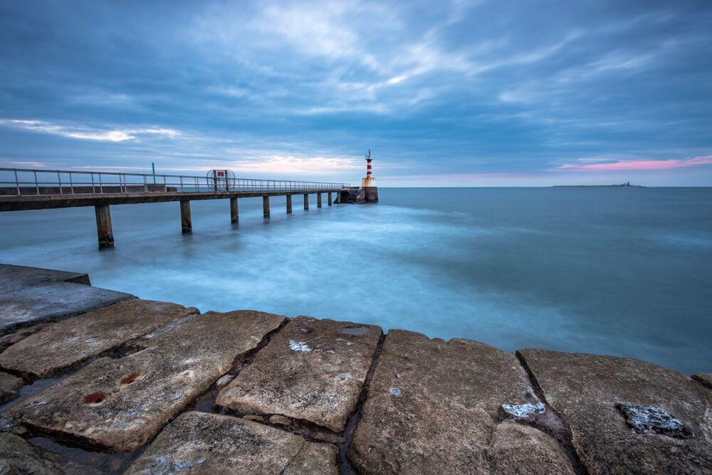 Amble Pier, Northumberland