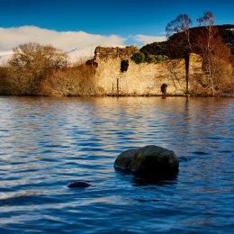 Castle Ruin at Loch an Eilein