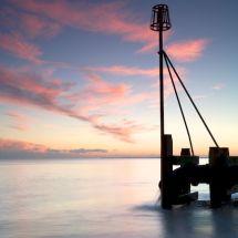 Sunset at Bognor regis