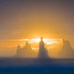 Sunset at Vik Iceland