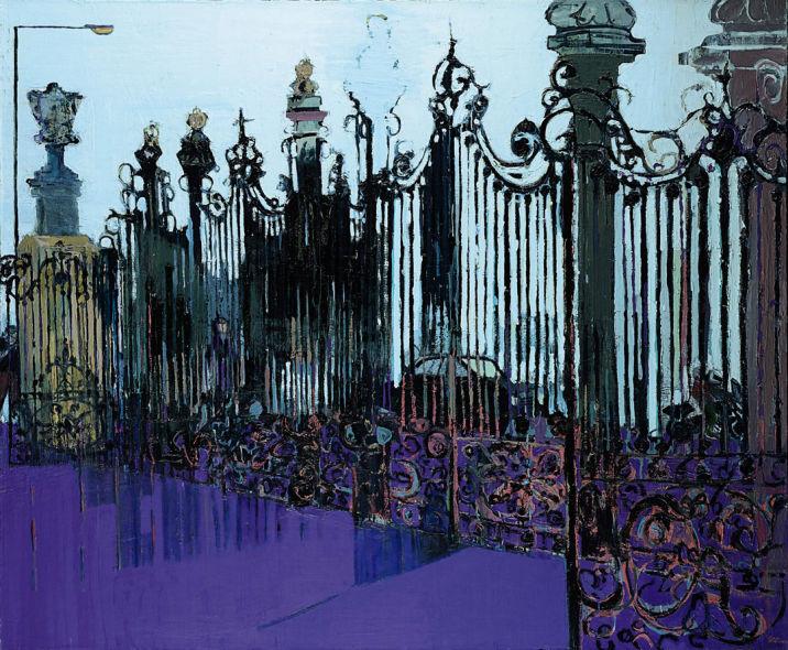 Gateway, oil on canvas, 58 x 69 ins