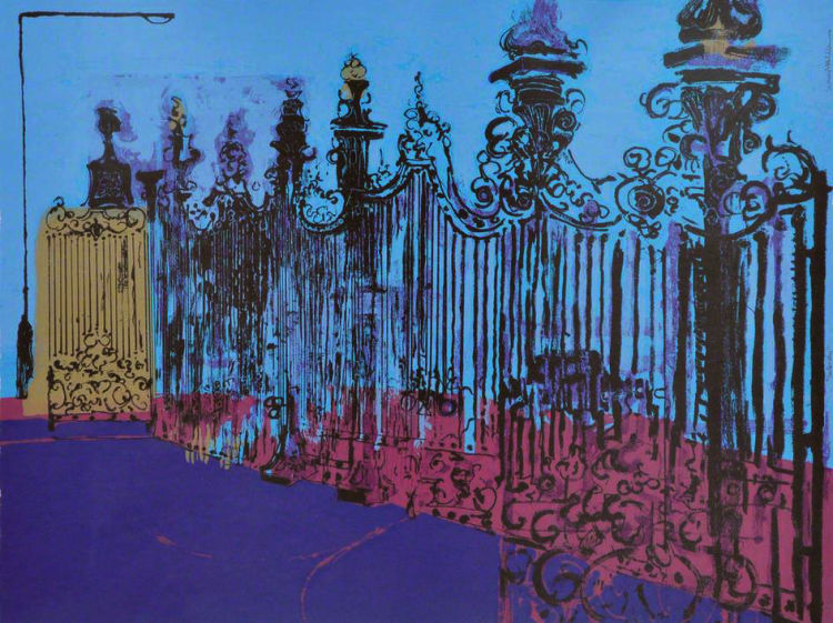 Gateway, Screenprint edition of 25, Simon McWilliams