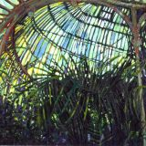 In The Palmhouse, oil on canvas, 97 x 101cm
